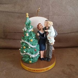 "Hallmark Ornament 1995 ""It's a Wonderful Life"""
